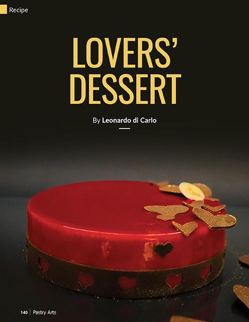 lovers' dessert