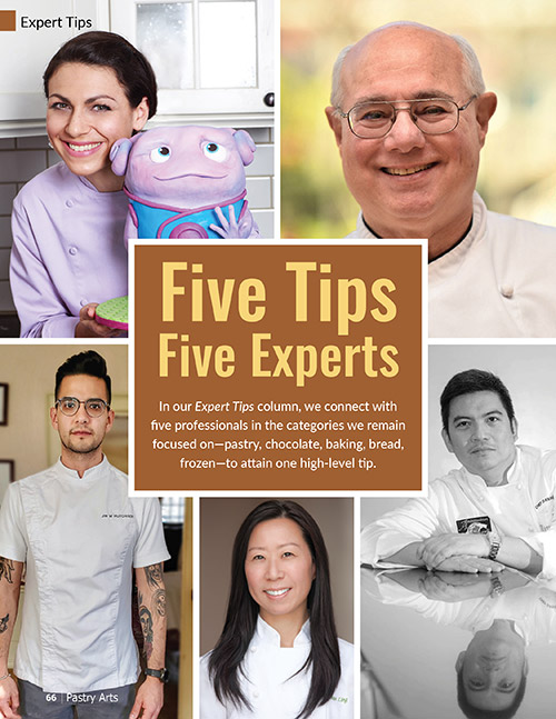 five tips, five experts