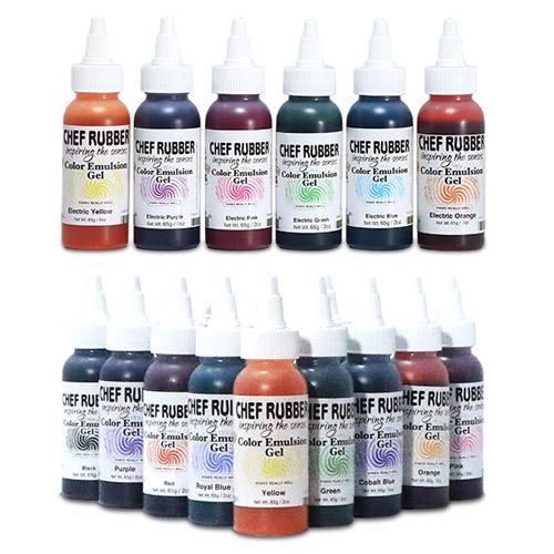 color emulsion gel kits