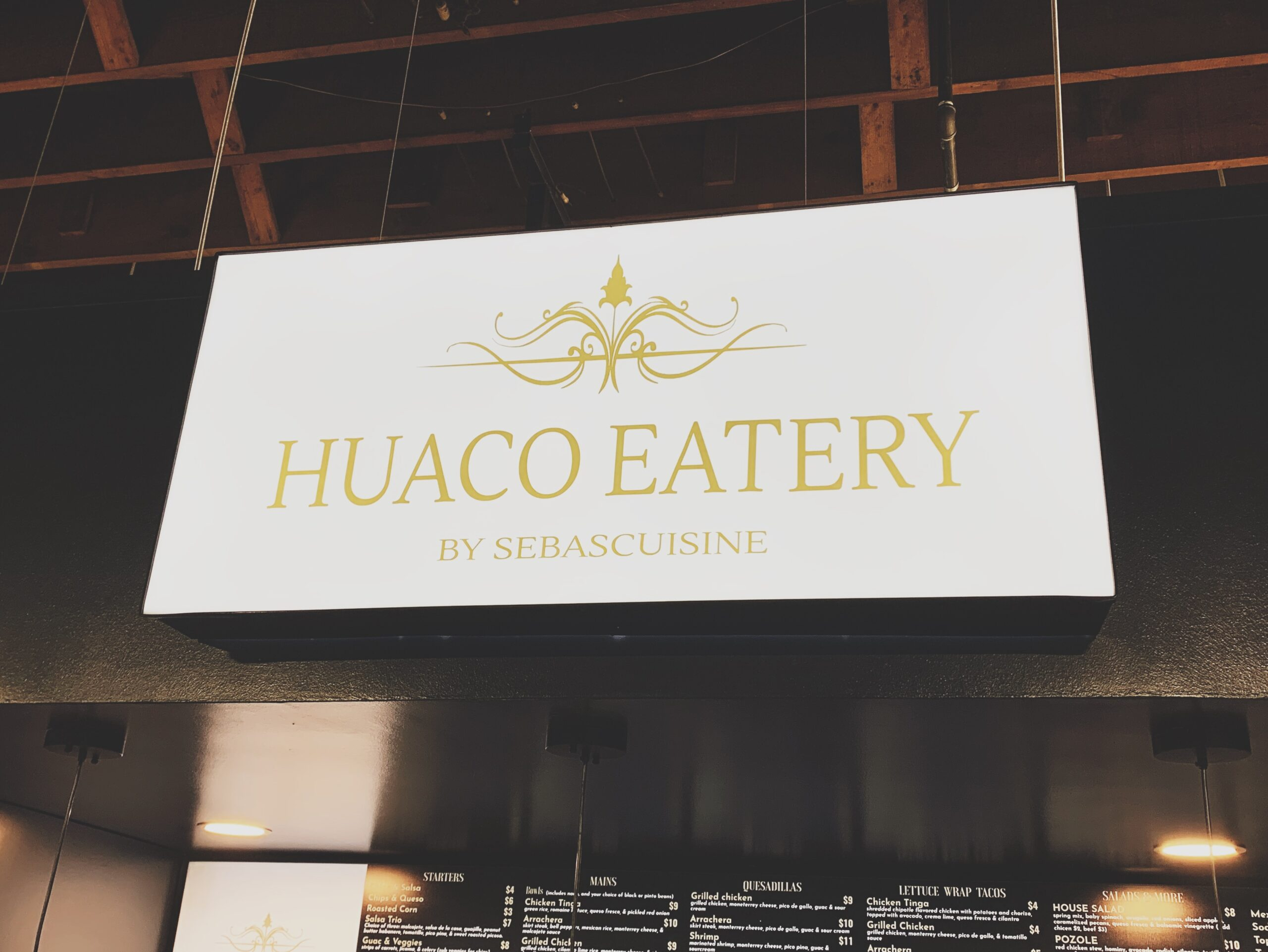 Huaco Eatery is Now Open!