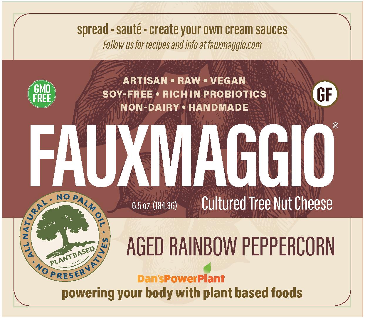 Aged Rainbow Peppercorn Cheese