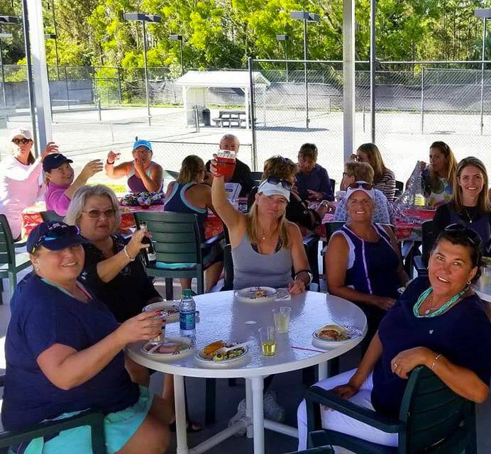 Tennis Social at Buttonwood