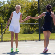 High 5 tennis ladies