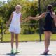 High 5 tennis ladies
