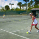 Ladies Doubles Tennis