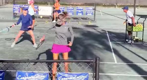 Cardio Tennis Clinic
