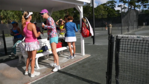 Ladies Tennis in Jensen Beach FL