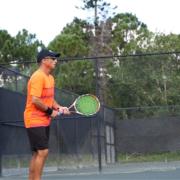Tennis player in Jensen Beach FL