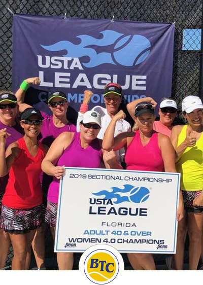 USTA Team Tennis at Buttonwood in Stuart FL