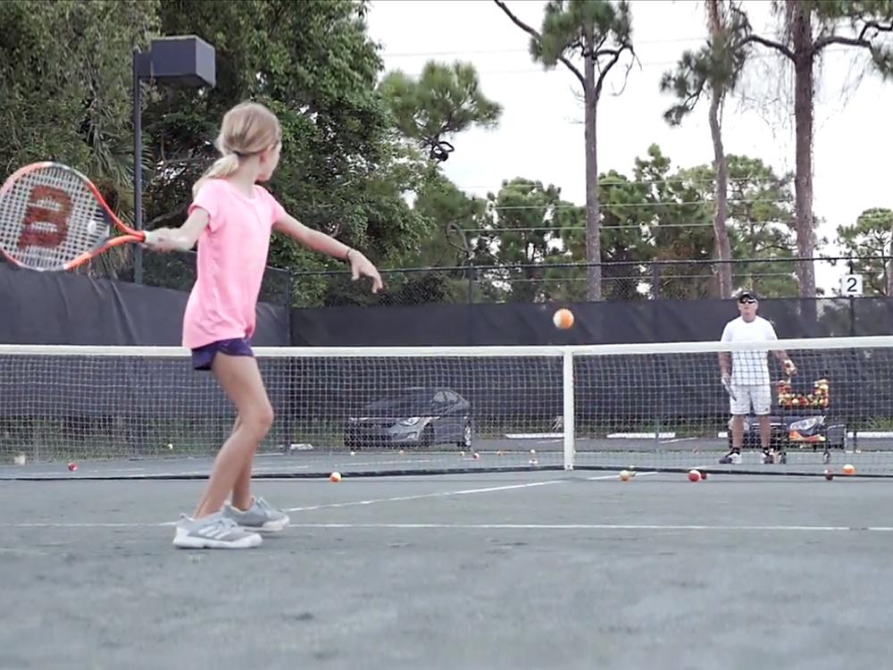 Coaching Junior Tennis Players