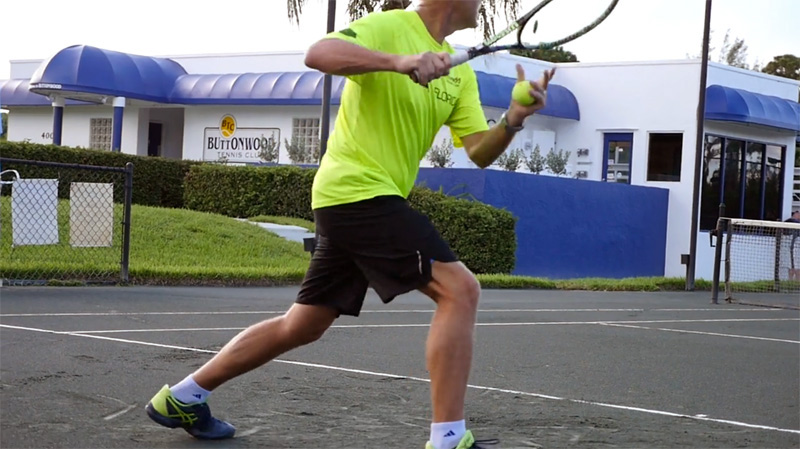 Tennis Player in Stuart FL at Buttonwood