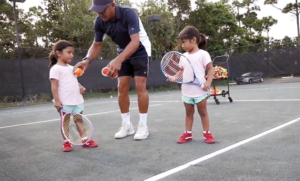Tiny Tots Tennis in Stuart FL