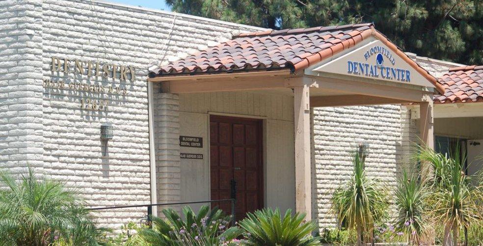 Bloomfield Dental Center Entrance