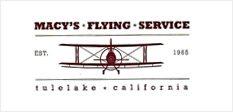 Macy's flying service