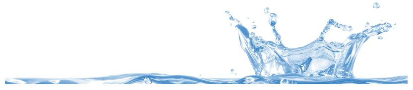 Water drop hitting water