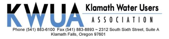 Klamath Water Users Association header