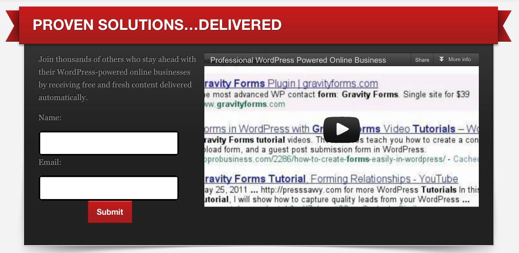 WP Pro Business