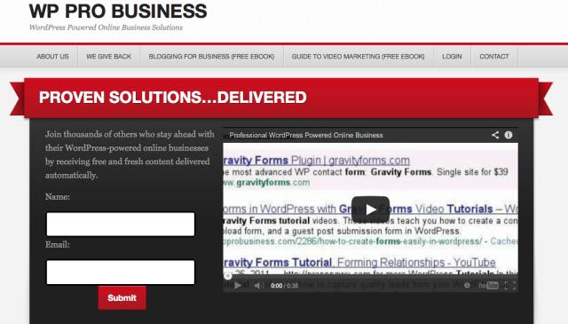 WordPress Pro Business