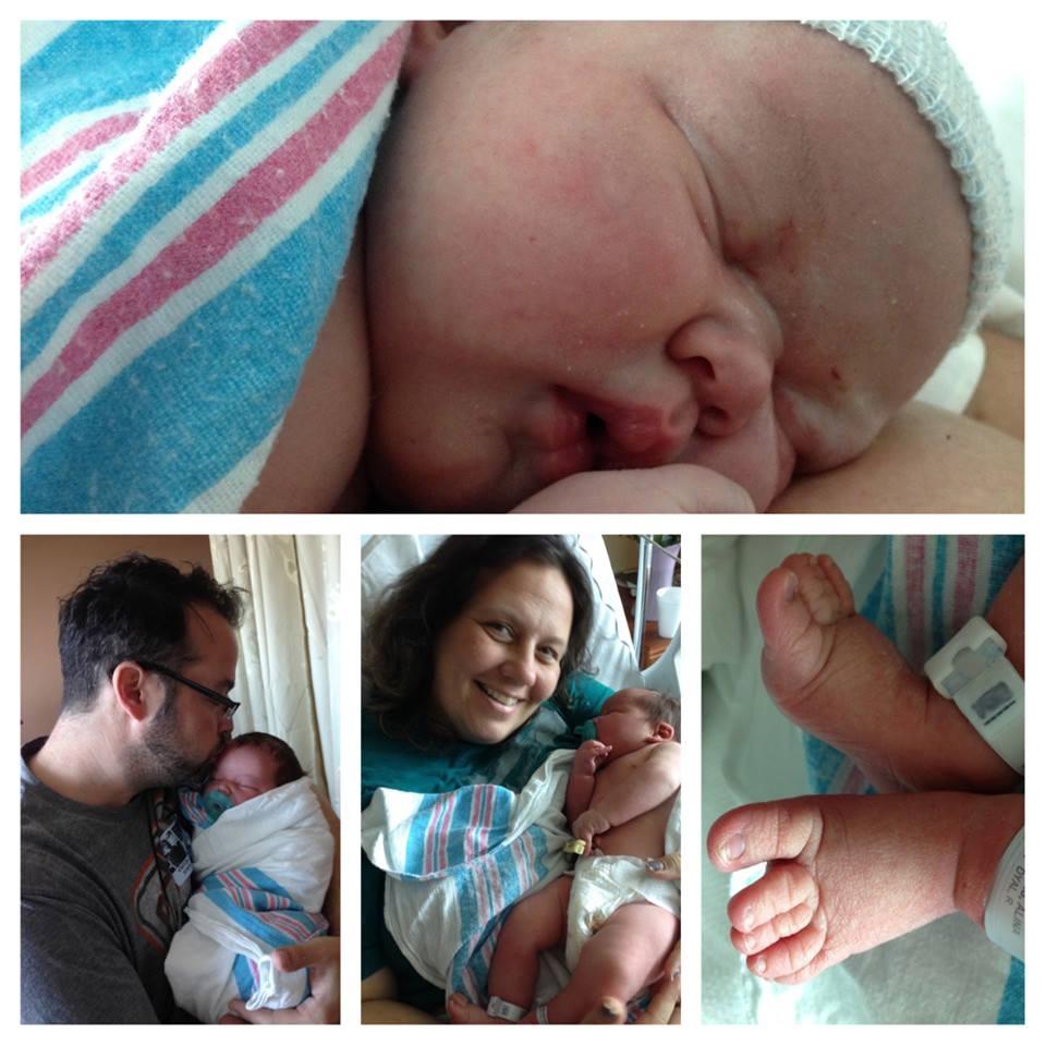 Newborn Baby First Week