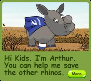 RhinoKIDZ - Arthur the Brave Rhino