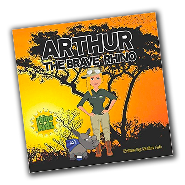 Arthur the Brave Rhino Children's book