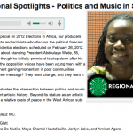 Senegal: Intersection of politics and music