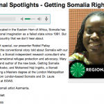 Getting Somalia Right: Part I