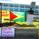 """Your silence will not protect you"" Occupy Guyana [GT]"