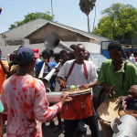 Who is Michel Martelly and why is the Haitian grassroots movement protesting against him?
