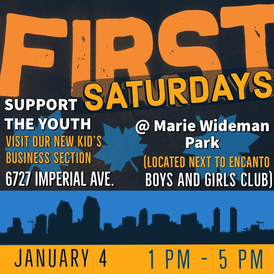 First Saturdays at THE SPOT @ Marie Widman Park
