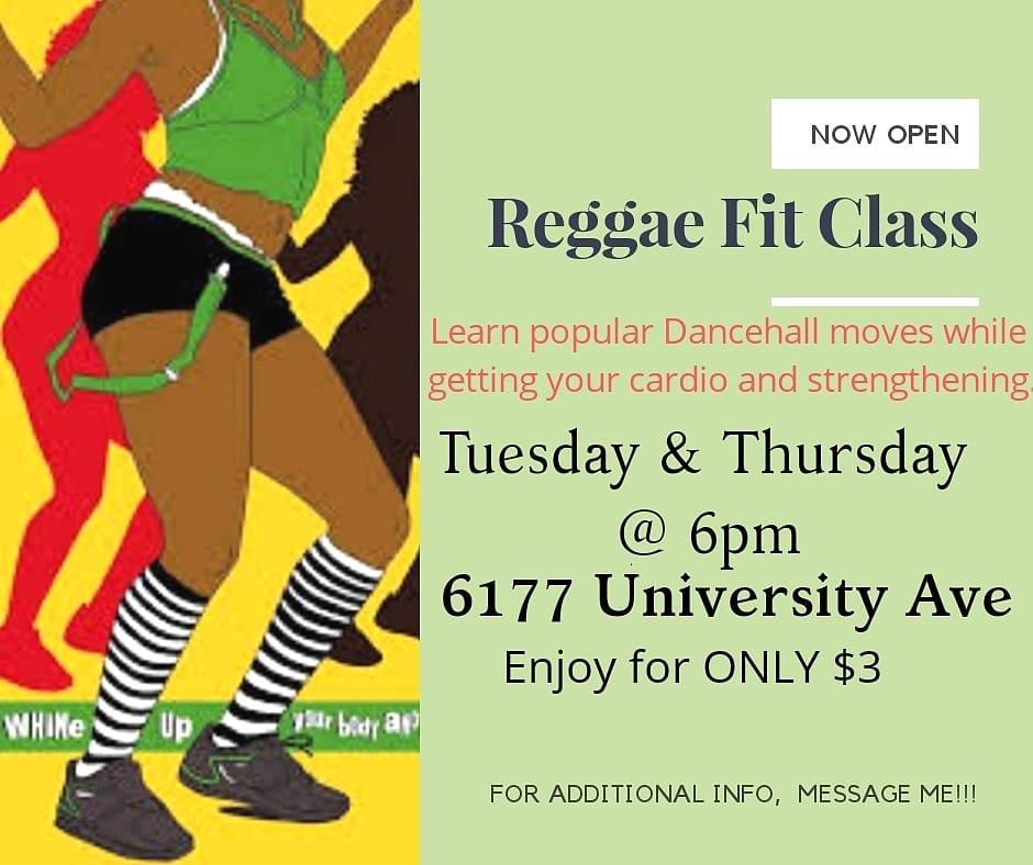 ReggaeFIT Dance Cardio Class @ Elite Wellness