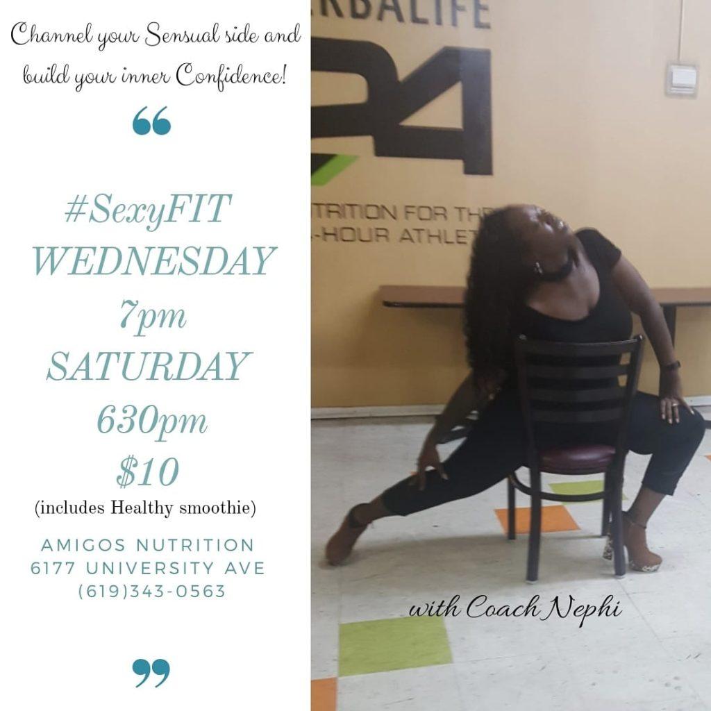 SexyFIT Heels Dance Workout Class @ Elite Wellness