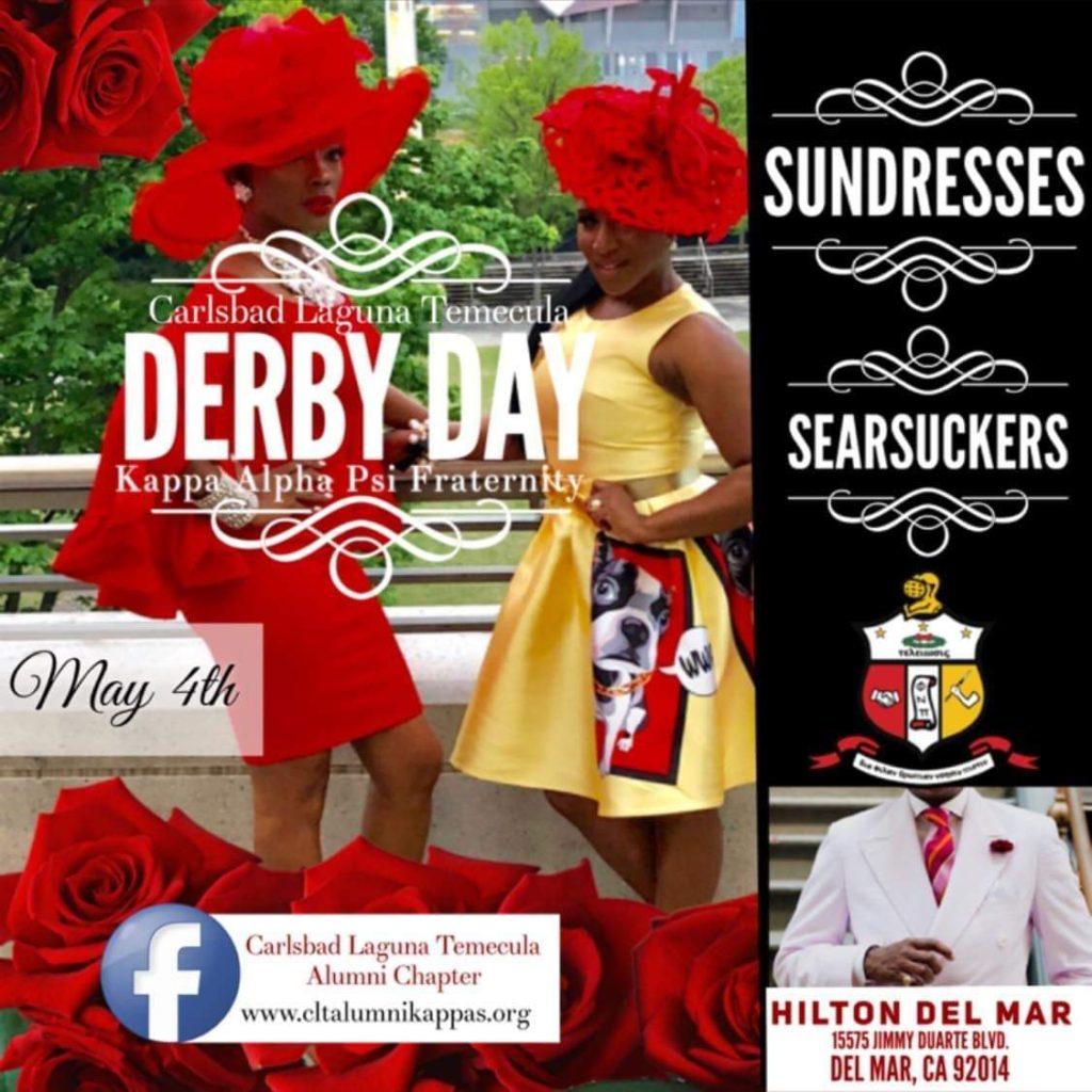 Kappa Alpha Psi Sundress & Seersucker Derby Day Party @ Del Mar Hilton