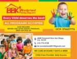 BBK WONDERLAND FAMILY CHILD CARE