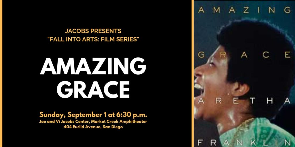 Fall Into Arts Film Series: AMAZING GRACE! @ Jacobs Center for Neighborhood Innovation