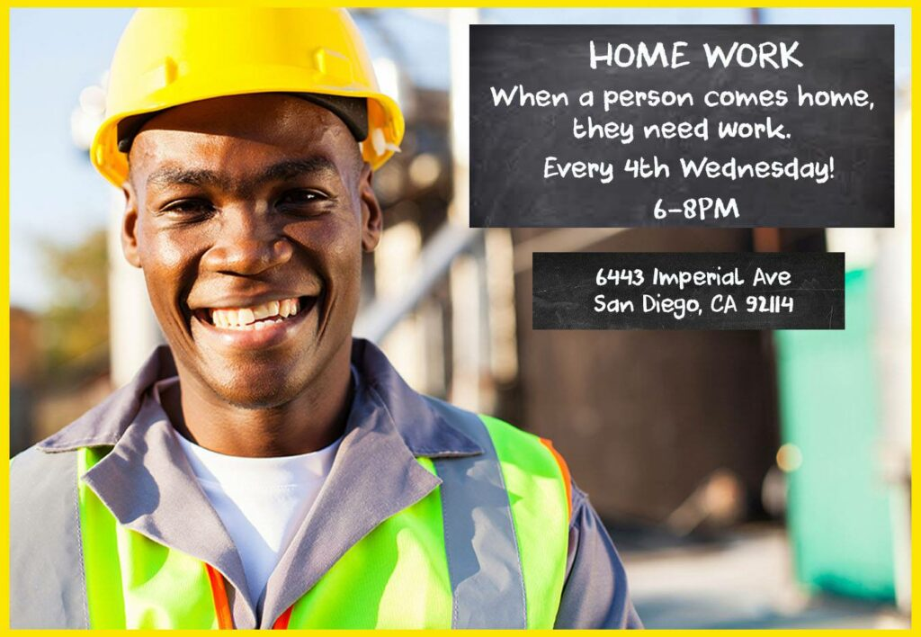 HoMEwork Networking Dinner (felony eligible Job Training + Life Skills) @ Southeast CommUnity Spot
