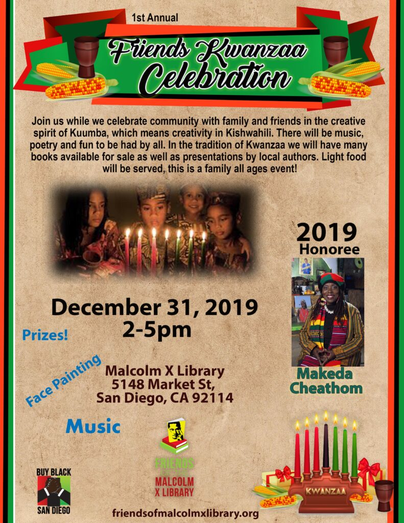 Friends of Malcolm X Libary Kwanzaa Celebration @ Malcolm X Library