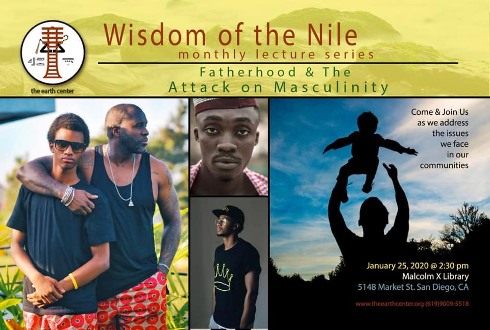 Wisdom of the Nile: Fatherhood and the Attack on Masculinity @ Malcolm X Library