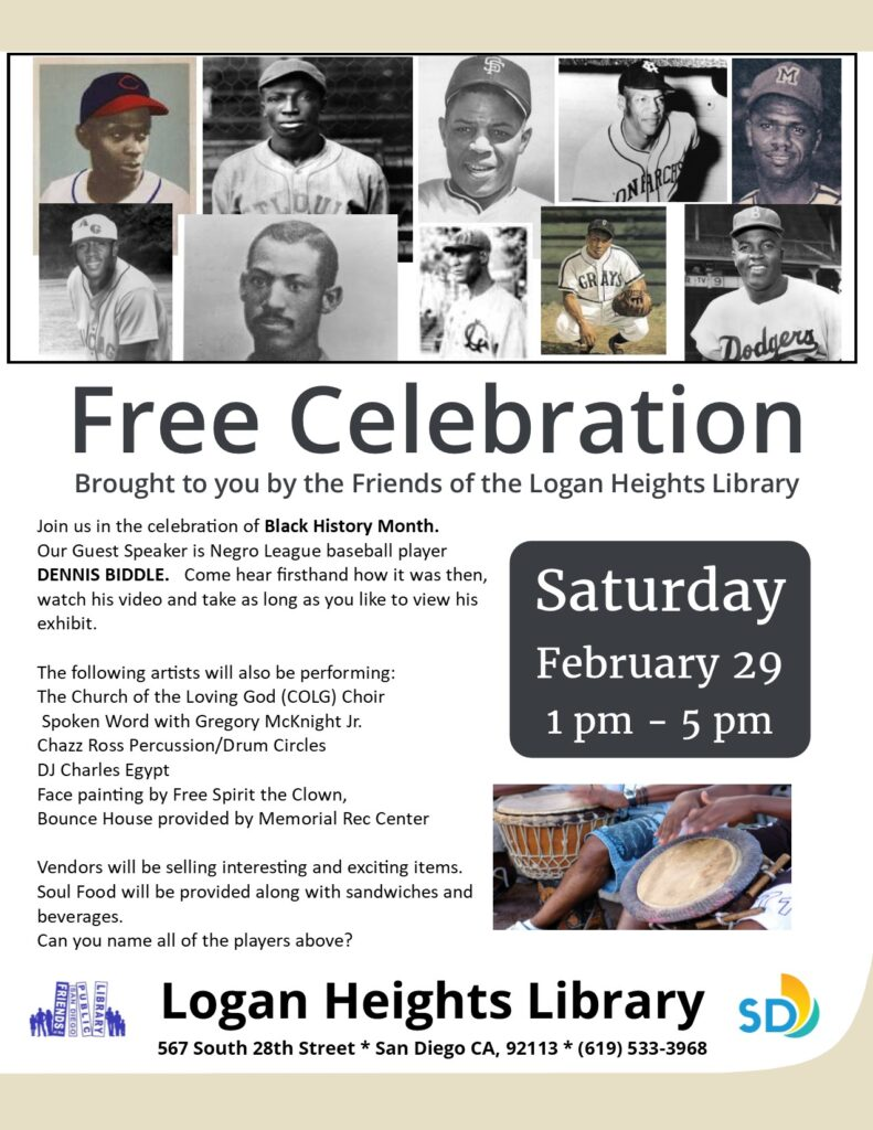 Black History Month Celebration @ Logan Heights Library