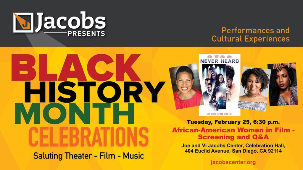 African-American Women in Film @ Jacobs Center, Celebration Hall
