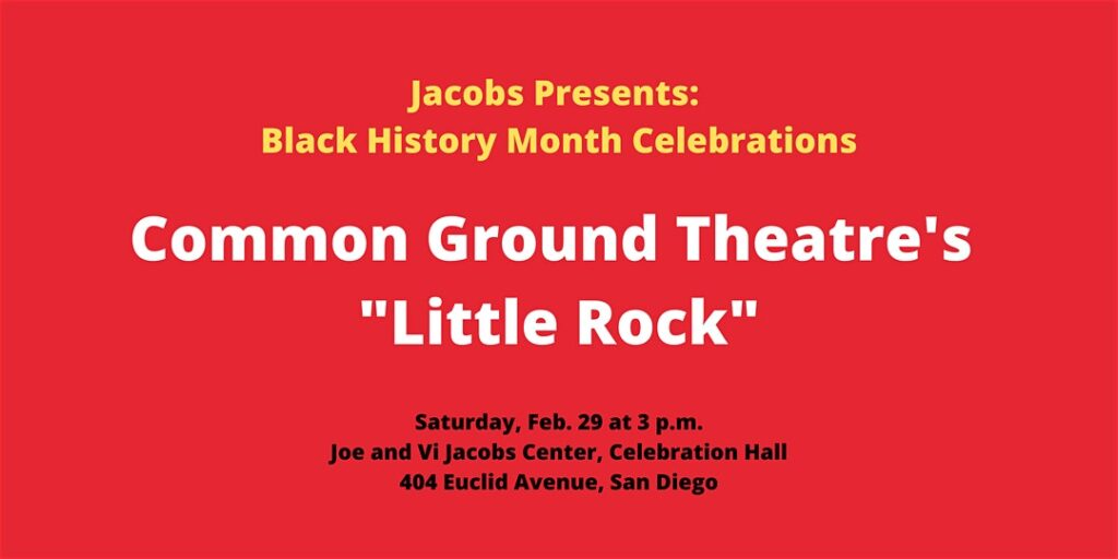 "Common Ground Theatre's ""Little Rock"" @ Jacobs Center, Celebration Hall"