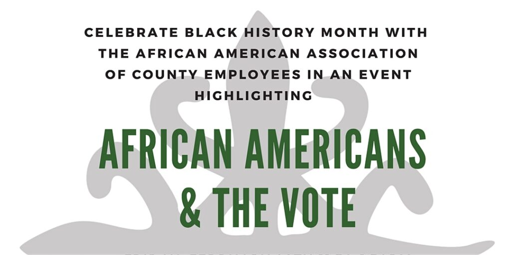 AAACE BLACK HISTORY MONTH CELEBRATION @ County Operations Center - Commons