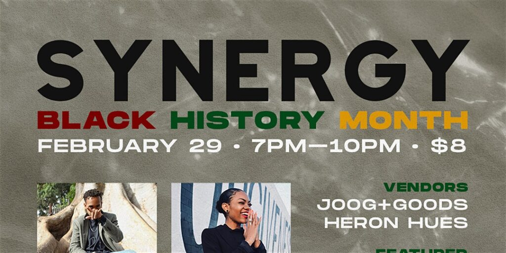 SYNERGY.SD: Honoring BLACK HISTORY MONTH @ Deja Brew Lounge