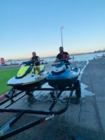 Our owners and brand new jet skis.