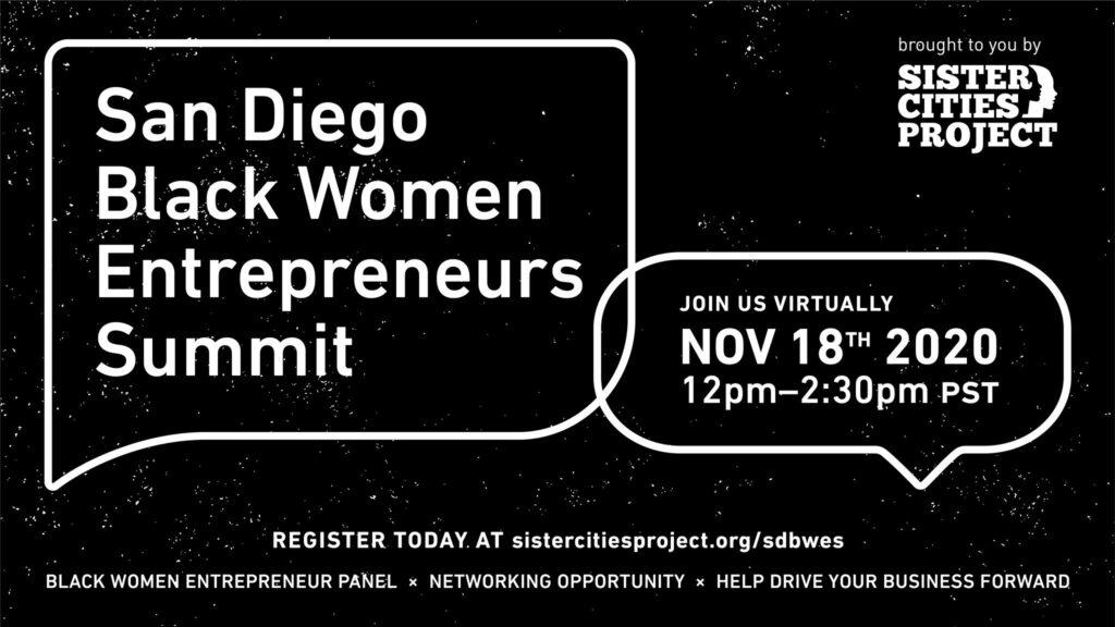 San Diego Black Women Entrepreneurs Summit @ Online Event