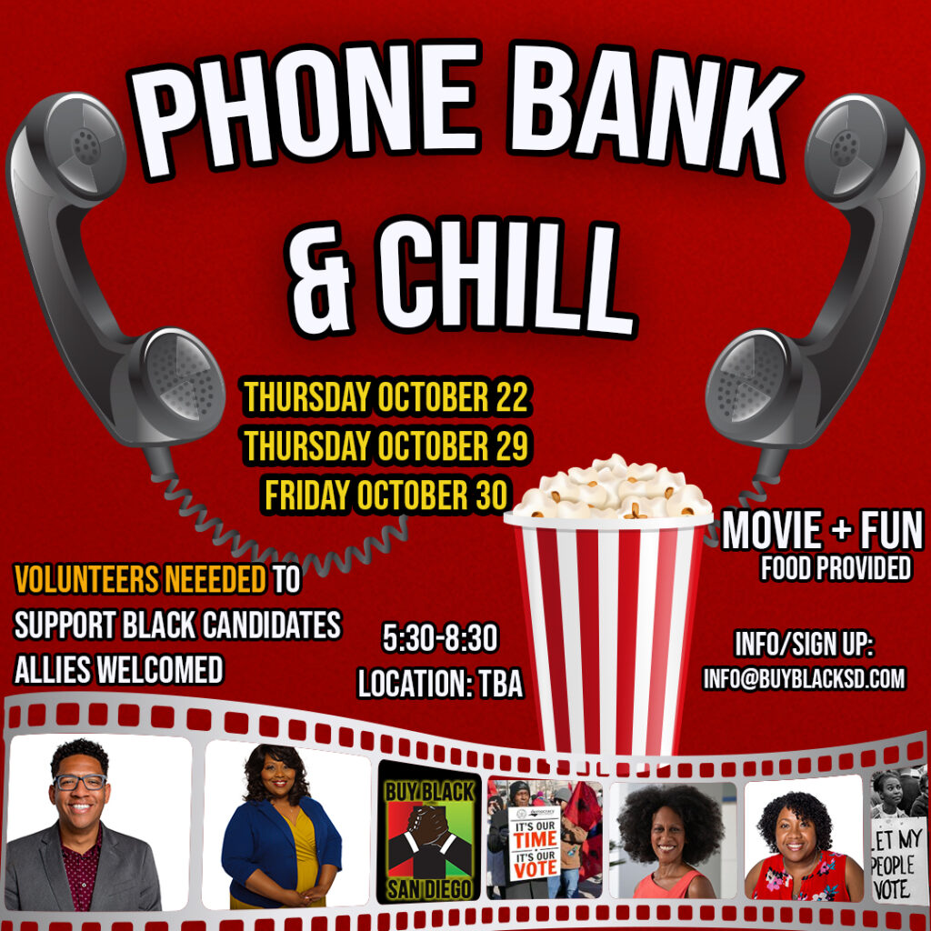 Phone Bank & Chill @ TBA
