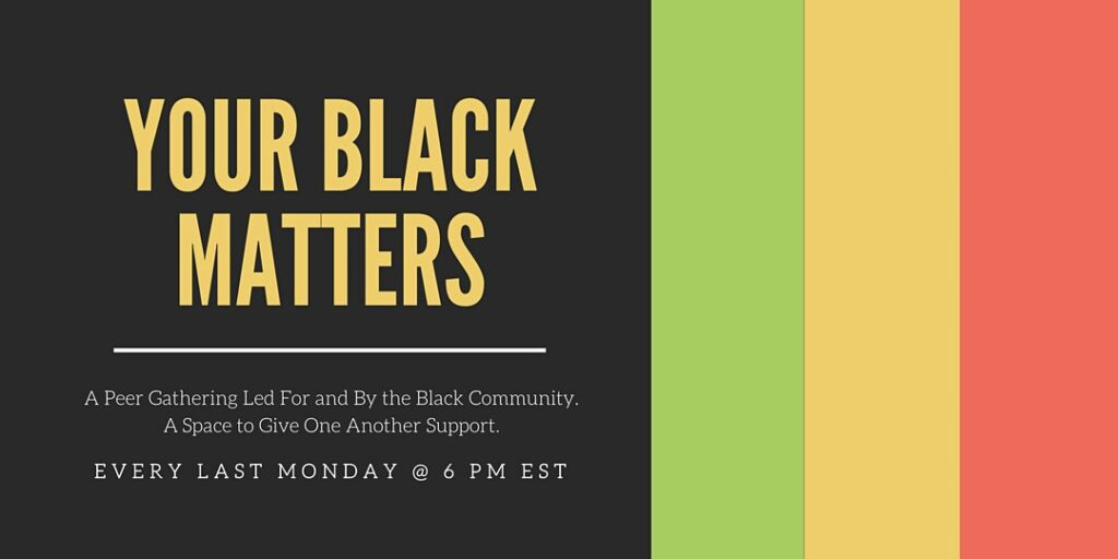 Your Black Matters @ Online Event