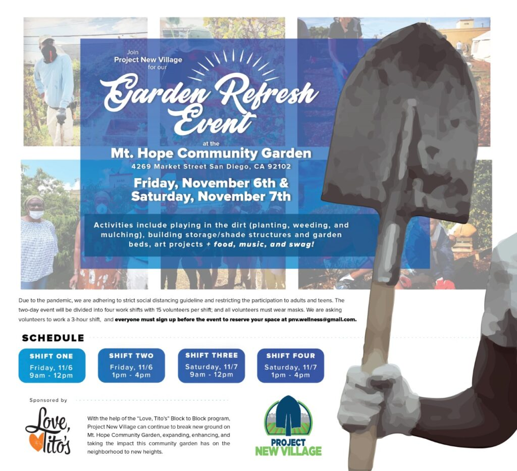 Mt. Hope Community Garden Refresh Event @ Mount Hope Community Garden