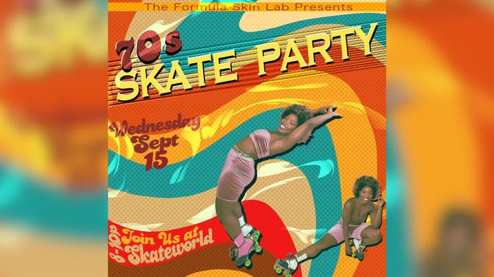 70's Skate Break with The Formula Skin Lab @ Skateworld San Diego