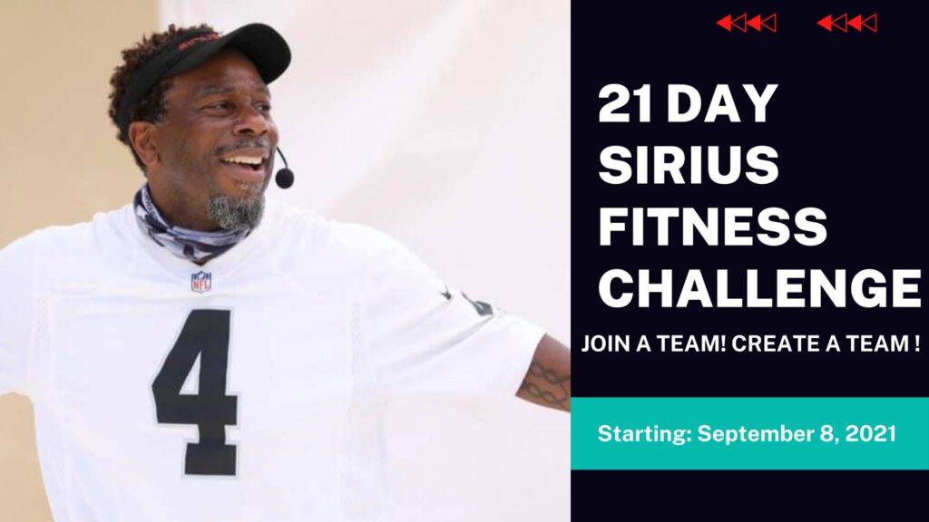 21 Day Sirius Fitness Challenge @ Online